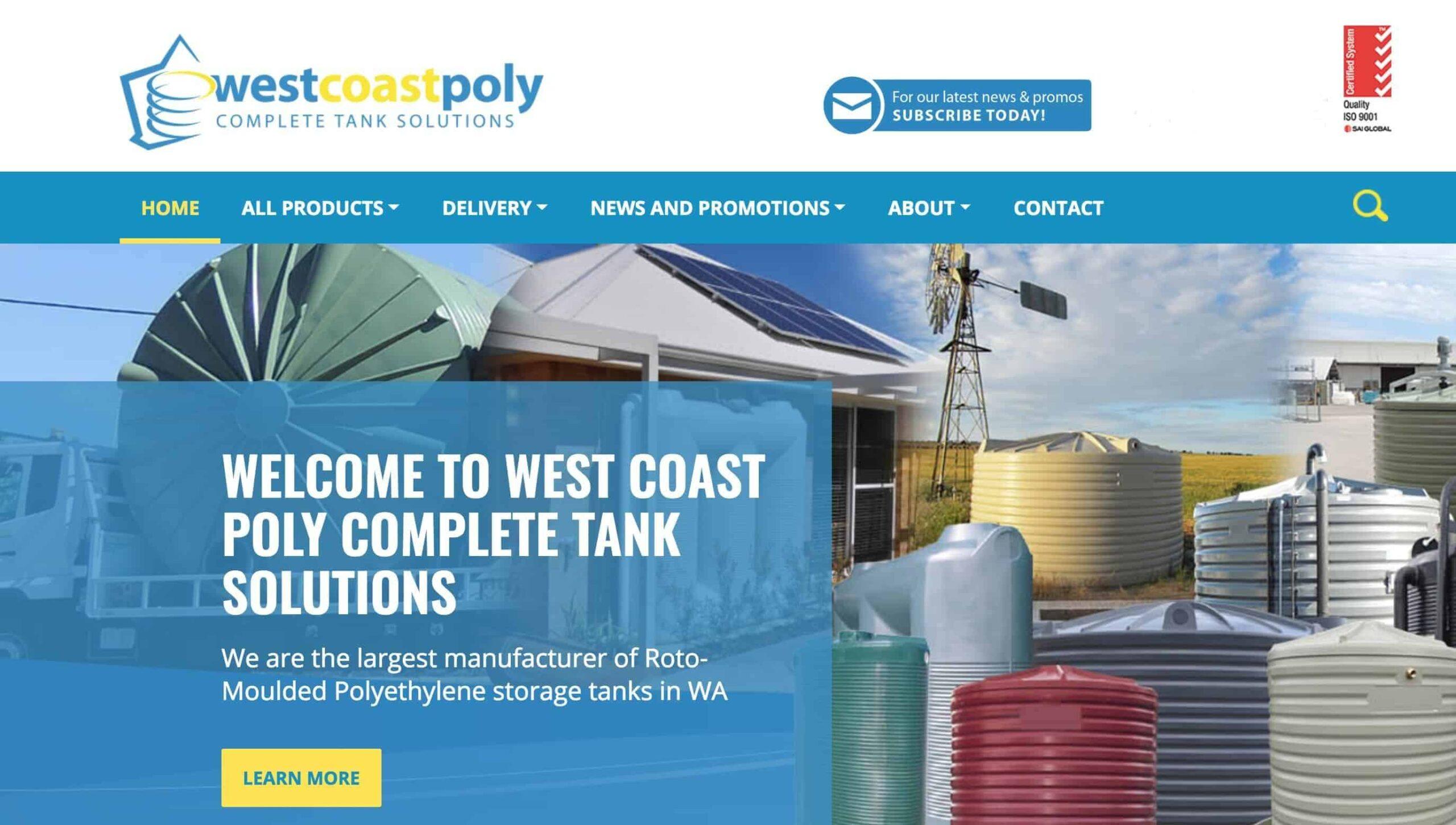 west coast poly website